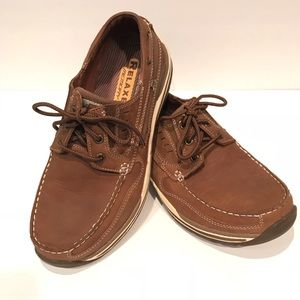 Skechers Mens Brown Relaxed Fit Loafers